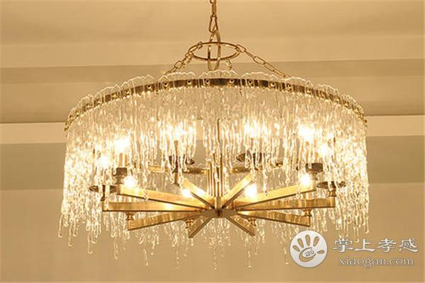 孝感新房装修客厅安装水晶吊灯后怎么清理?水晶吊灯清理方法介绍[图2]
