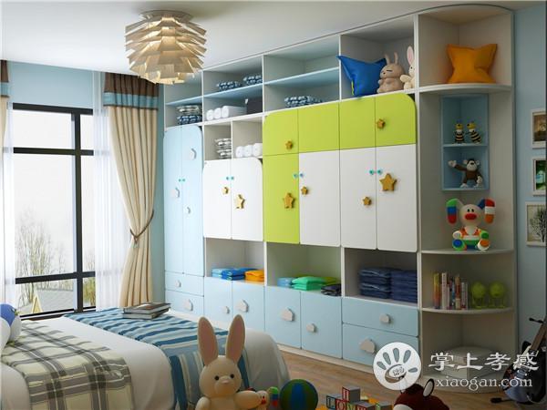 孝感儿童房装修衣柜如何选购?儿童房衣柜选购技巧介绍[图1]