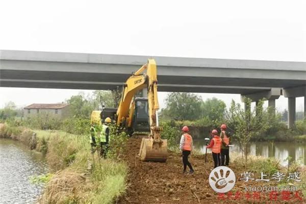 武汉至大悟高速公路项目复工:已完成项目驻地、试验室、砼搅拌站、1#钢筋加工中心的建设和验收[图1]