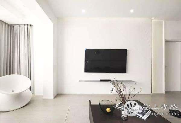 孝感新房装修有必要设计纯色电视背景墙吗?纯色电视背景墙好看吗?[图1]