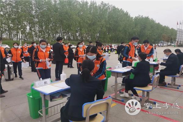 应城华茂外国语学校举行2020年春季返校复学演练[图1]