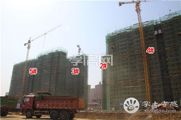孝感九烨·鼎观世界红堡5月进度:2#楼已建至24层![图2]