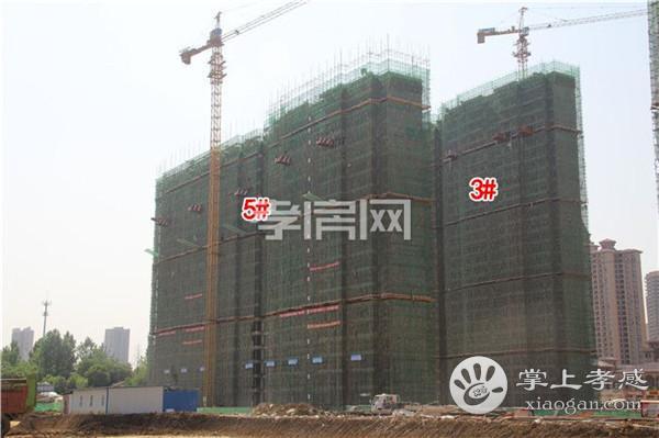 孝感九烨·鼎观世界红堡5月进度:2#楼已建至24层![图4]