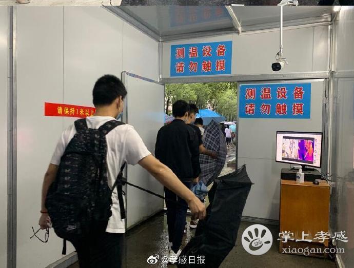 """湖北云夢2806名考生迎來人生首次""""大考""""[圖9]"""