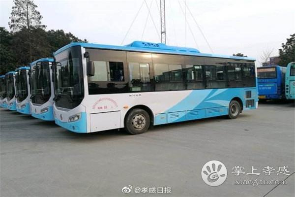 8月1日起,孝感3條公交線路將恢復[圖1]